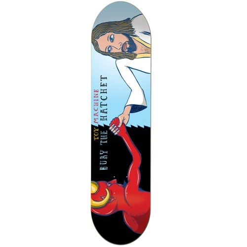 Toy Machine Bury The Hatchet 8.0 Team Deck