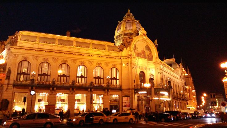Municipal house - this Art Nouveau treasure is located in the very heart of Prague, three minutes on foot from our hotel.
