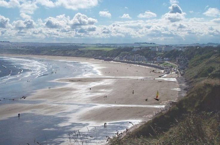 Filey bay, North Yorkshire Coast , England