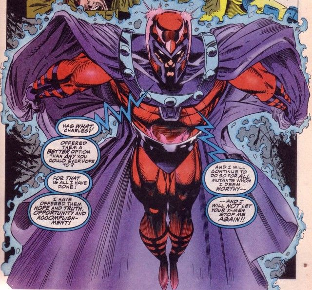 Top 10 Best Comic Book Villains - Toptenz.net///Magneto