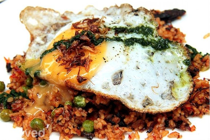 Mojo Fried Rice With Duck Eggs  at Mojo Kitchen