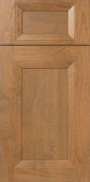s842 burbank alder cabinet door with gray brown stain u0026 french mitered walzcraft - Cabinet Stain