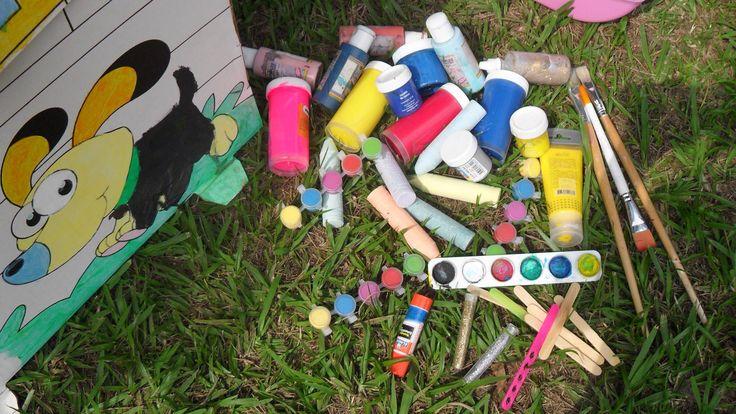 Casitas para jugar y pintar, explota su creatividad