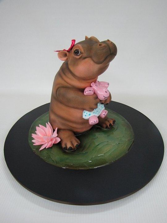 hippo cake Amazing Cakes Pinterest Beautiful, Hippo ...