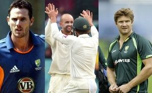 Off-spinner Nathan Lyon was today recalled to the Australian ODI squad for the remaining two matches against India as the selectors also included Shane Watson and Shaun Tait in the Twenty20 series that follows.