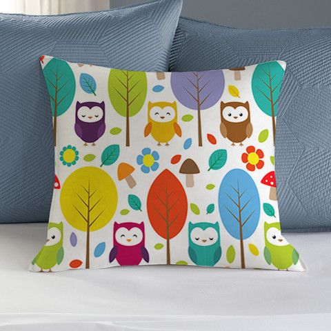 Owl Patern pillowcase