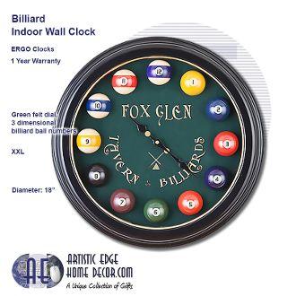 ERGO Billiard Clock