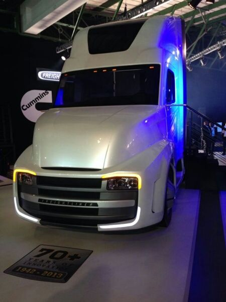 Mercedes-Benz Commercial Vehicles stand at JIMS 2013