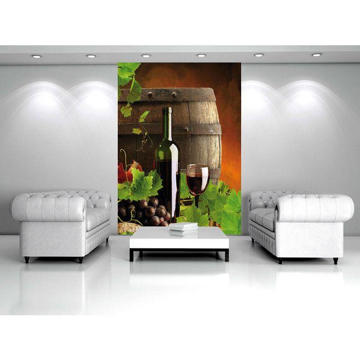 poster mural xxl wine grapes - Poster Mural Grand Format