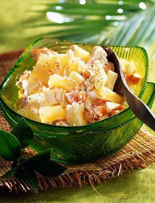 Nullkalóriás ananászsaláta