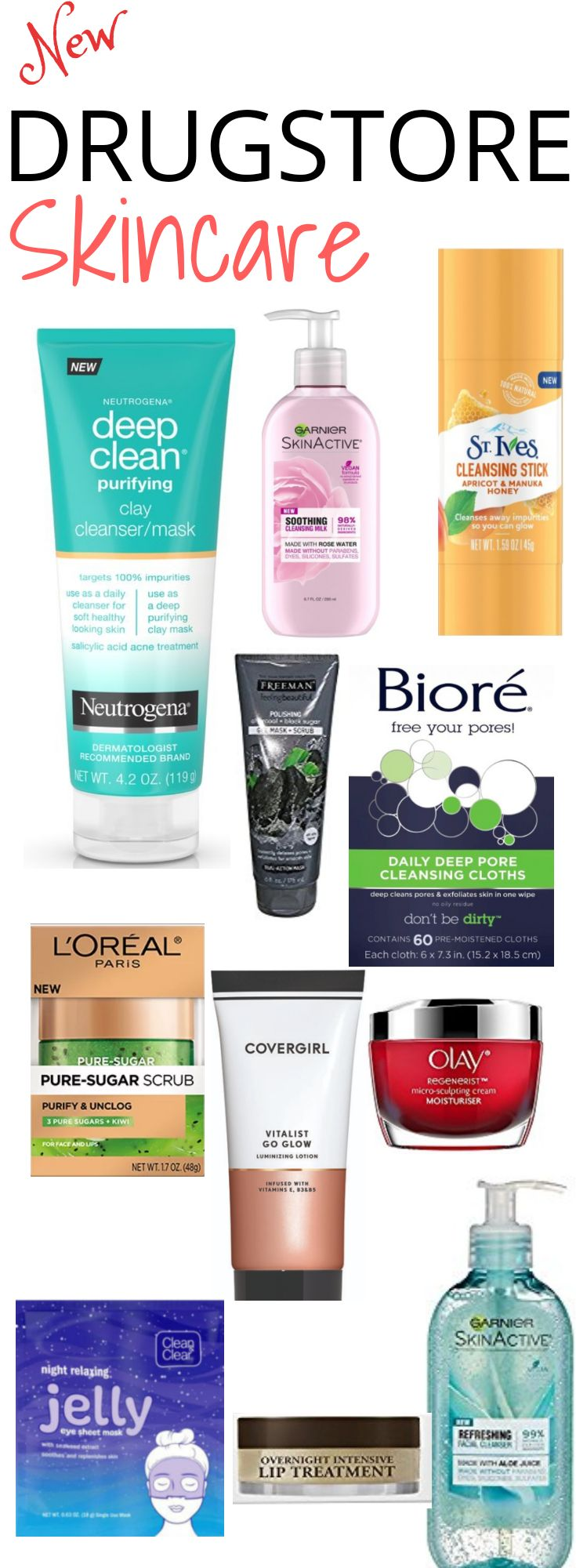 20 new drugstore skincare saviour you need to check out 2018