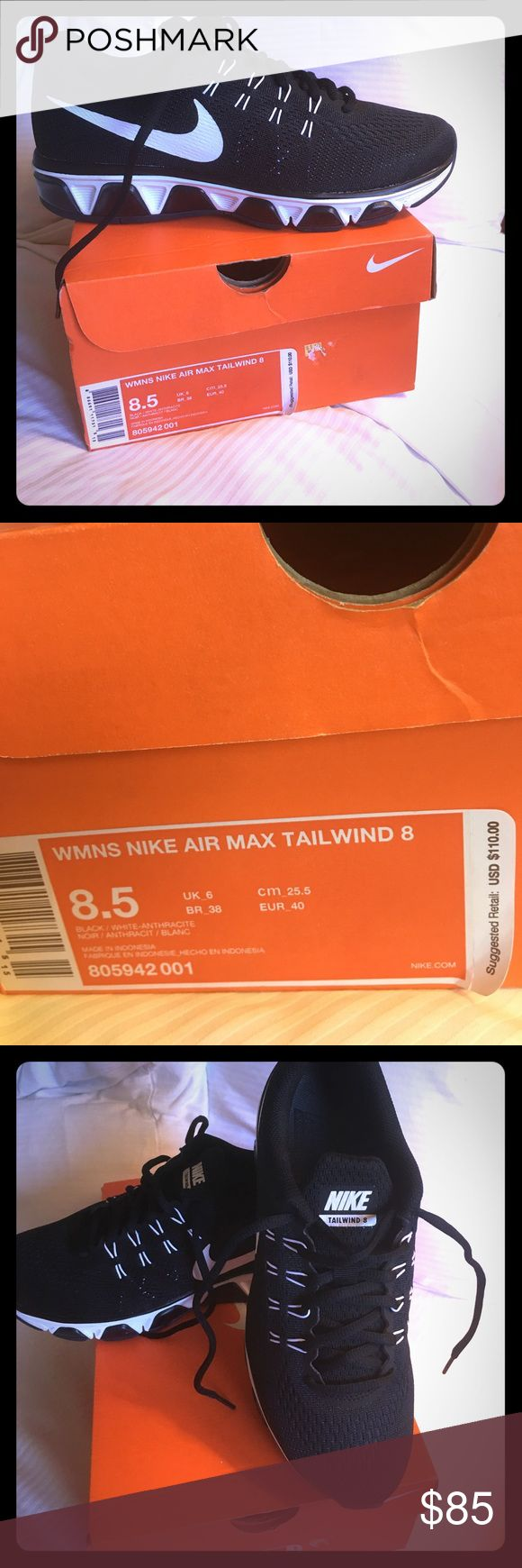 Nike Air Max Tailwind 8 Nike Air Max Tailwind size 8.5 New in Box. Nike Shoes Sneakers