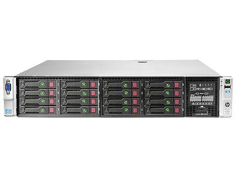 Intel Xeon E5-2620 (2.0GHz, 15MB), 16GB PC3-10600R, Smart Array P420i/1GB FBWC, 460W PS