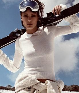 #ski bunny  Leather Legging #2dayslook #LeatherLegging #fashion #new  www.2dayslook.com