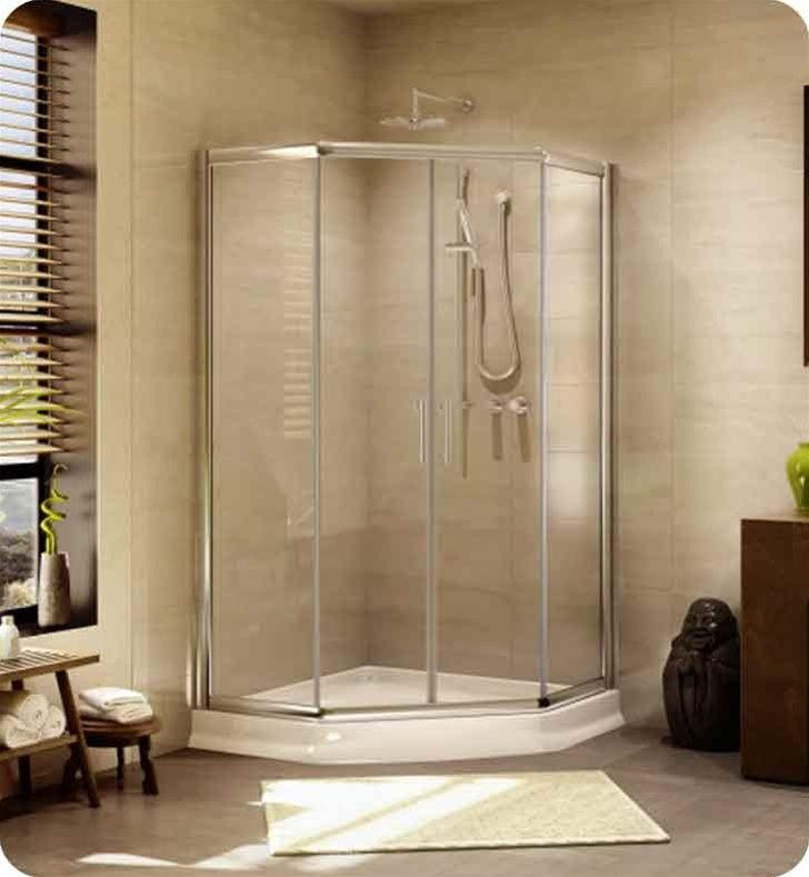 31 best Shower Remodeling images on Pinterest | Neo angle shower ...
