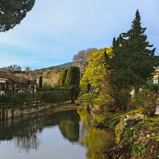 Это вот здесь мы живем сейчас. #provence #sanmaxime