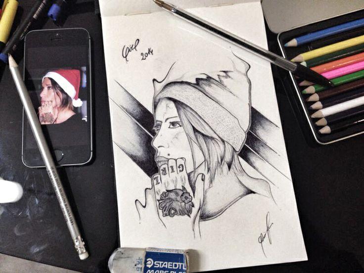 [girl] Bic su carta.  2014