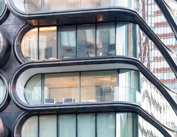 520 West 28th building in NY. Zaha Hadid Architects.