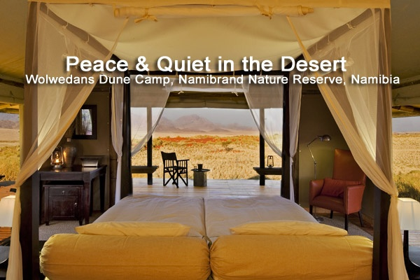 Peace & Quiet in the Desert at Wolwedans Dune Camp in the Namibrand Nature Reserve, #namibia