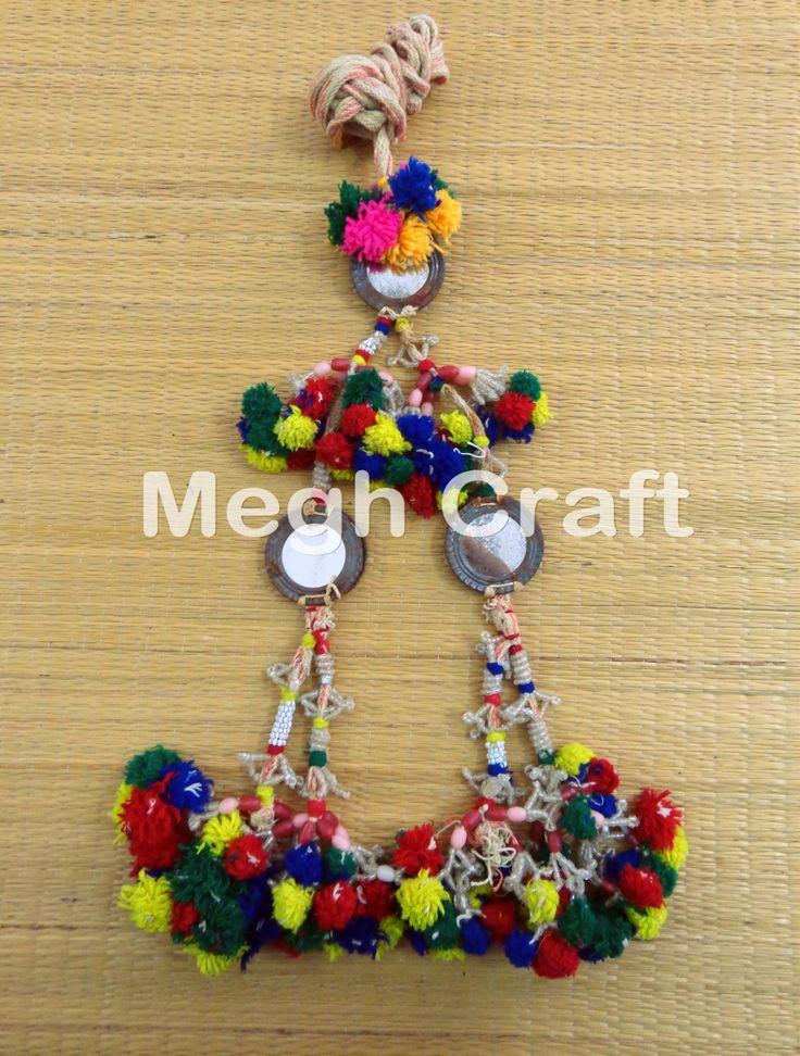 Designer Girls Waist Belt  old banjara Mirror Work Tassel Vintage Ethnic  Waist-Belts   BY #CraftsOfGujarat #craftnfashion #meghcraft #indianethnicjewery