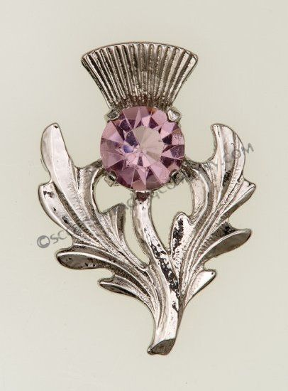 Scottish Thistle Brooch. I would love one of these for my Custom Dress!