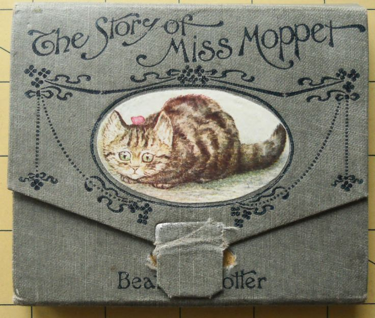 Beatrix Potter 1st edition 1st issue. concertina style Miss Moppet 1906. Ebay.
