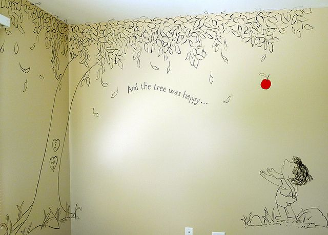 The Giving Tree mural... Loving this for a child's room