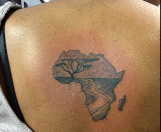 10 Tattoos of African Continent