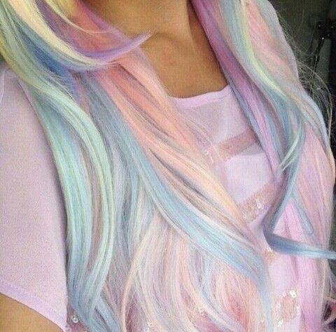 Creative hair dye x teenage -  creative