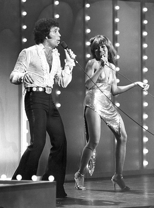 Tom Jones and Tina Turner. You never, ever interrupted Mom when he was on and if you did something better be broken or bleeding.