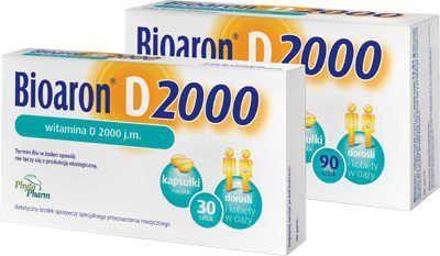 BIOARON Vitamin D 2000 IU x 30 capsules