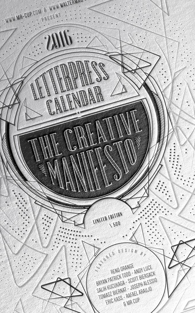 Calendar Typography Life : Best mr cup letterpress calendar images on pinterest
