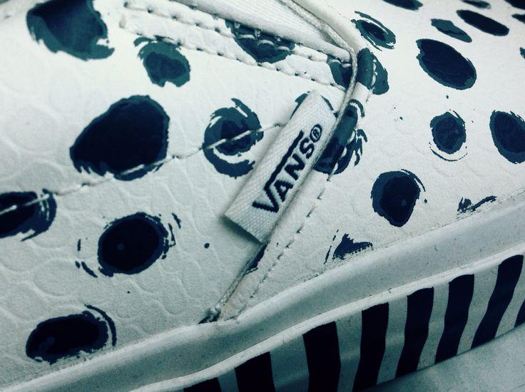 Dalmatian dot Vans