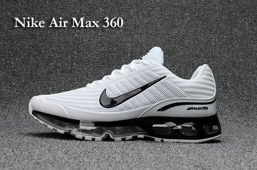 785fa592c434 Factory Authentic mens Nike Air Max 360 KUP Summit White Black ...