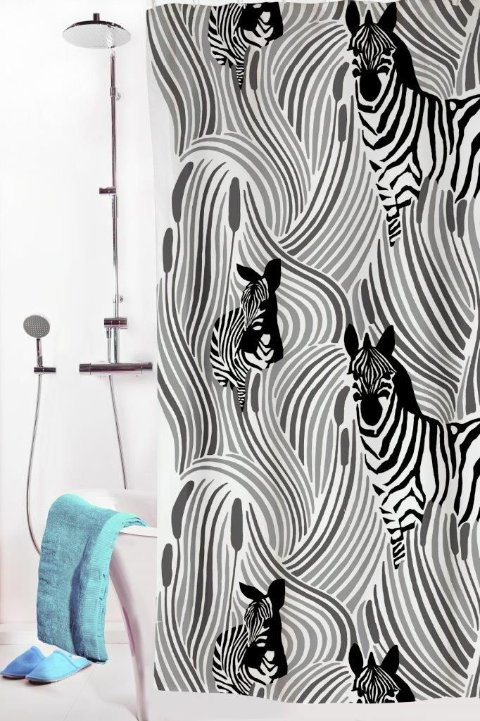 Vallila Interior AW14, Piilossa shower curtain grey by Riina Kuikka