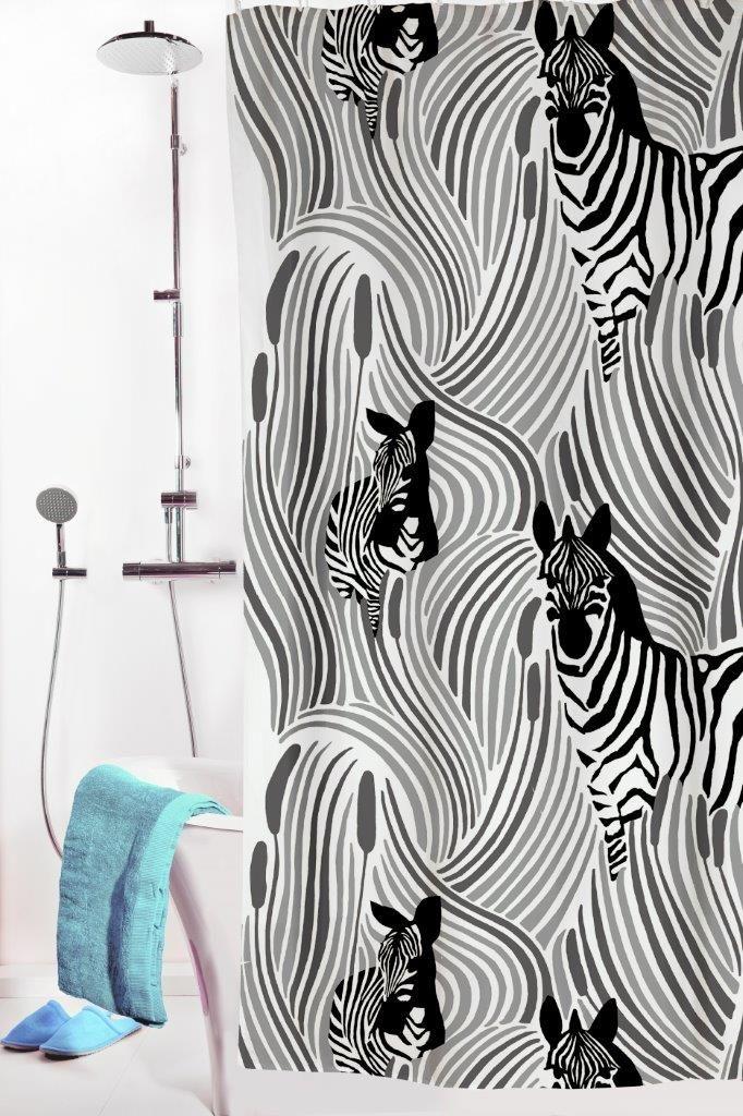Vallila Interior AW14, Piilossa shower curtain grey by Riina Kuikka