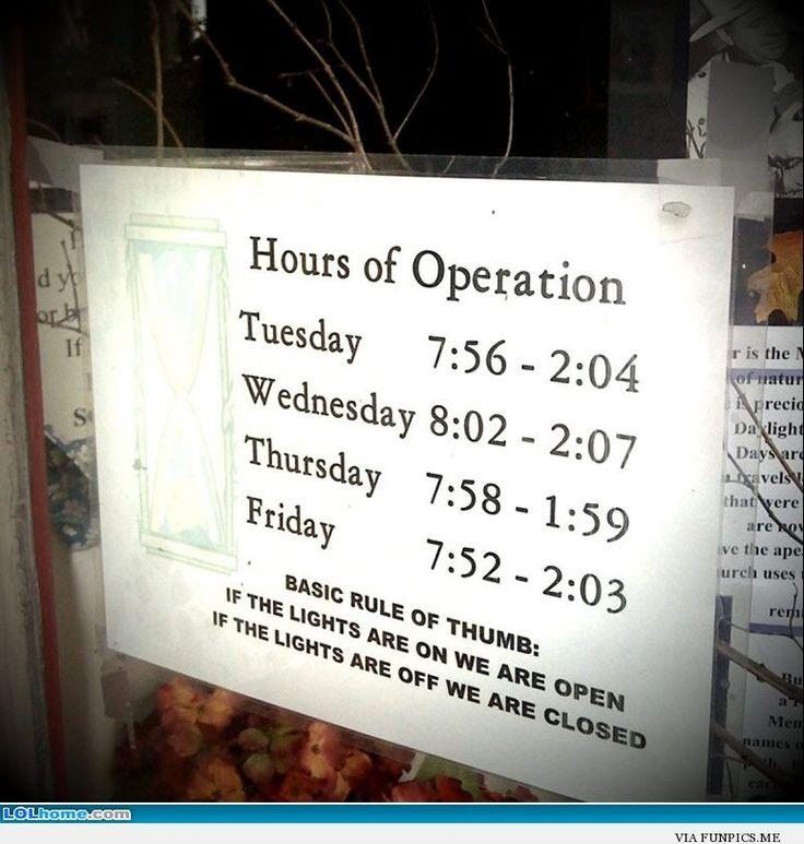 Lighting Warehouse Menlyn Trading Hours: Best 25+ Business Hours Sign Ideas On Pinterest