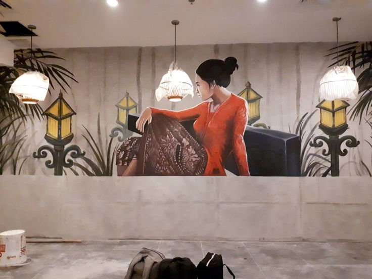 Restaurant Mural-Mural for restaurant-Mural cafe-Mural Restorn-Mural by iMural