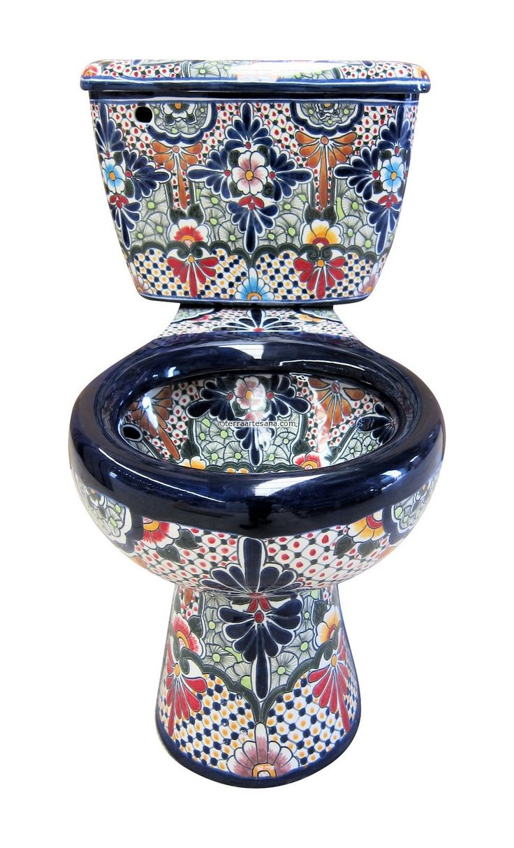 rustica house is the best place to buy a mexican talavera toilet and unique bathroom accessories purchase online handcrafted plumbing fixtures and rustic