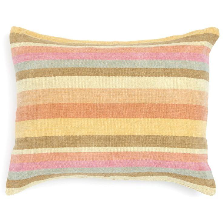 Pine Cone Hill Montego Stripe Melon Pillow Sham