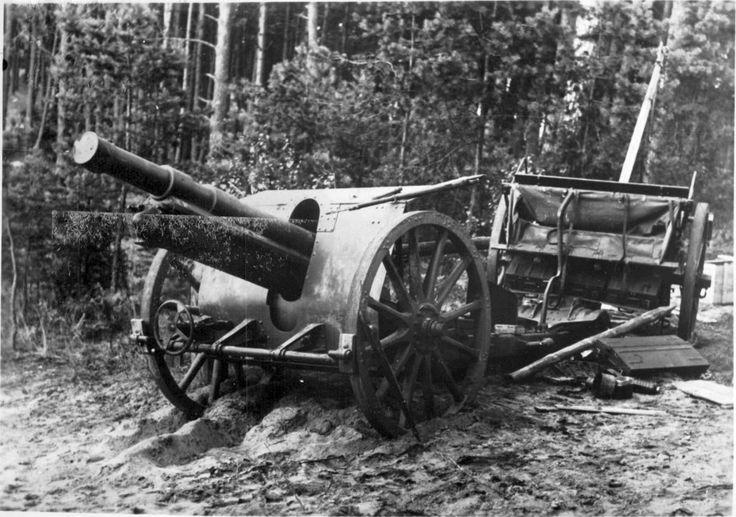 Polish 100-mm light howitzer Skoda M-14/19
