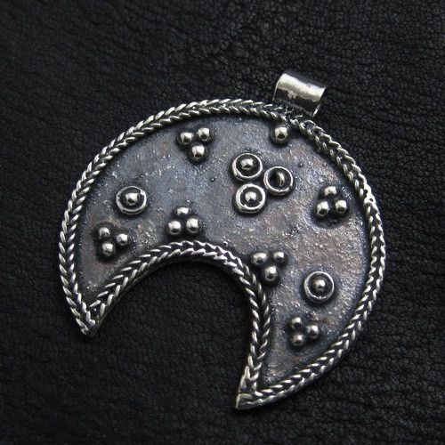 Silver lunula from Ancient Rome from The Sunken City by DaWanda.com