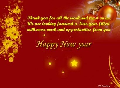 New Year Greeting Messages For Business   Happy New Year