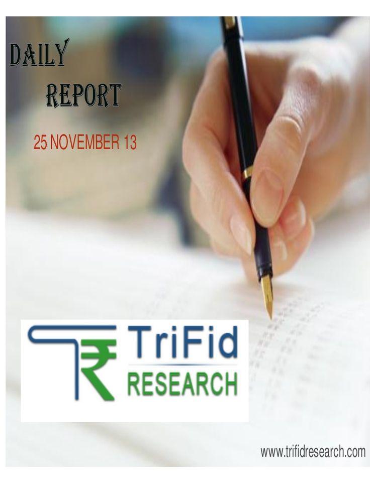 equity-dailytechnicalreport25novemberbytrifidresearch-28588975 by trifid research via Slideshare