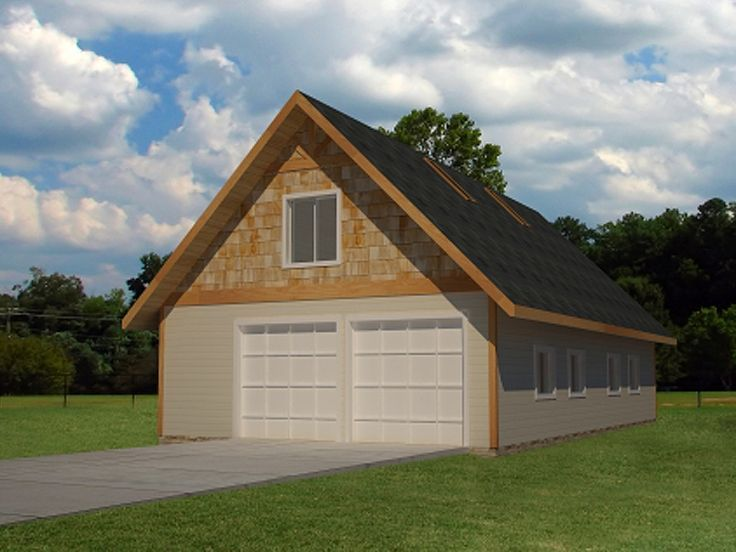 75 best 4 car garage plans images on pinterest car for House plans with drive through garage