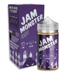 GRAPE JAM MONSTER E LIQUID BY JAM MONSTER E LIQUIDS Grape Jam E Liquid by Jam Monster E Liquid is like a freshly buttered piece of toast smothered with a delicious Grape jam. Try some Grape Jam Monster E Liquid today. Grape Jam Monster E Liquid specifications are VG/PG 75/25 in nicotine levels of 0mg, 3mg and 6mg in 100ml bottle. #GrapeJam #GrapeJamEliquid #JamMonster #JamMonsterEliquid #JamMonsterGrapeJam #Vape #Vaping #Eliquid #Ejuice #Grape #JamMonsterGrapeJamEliquid