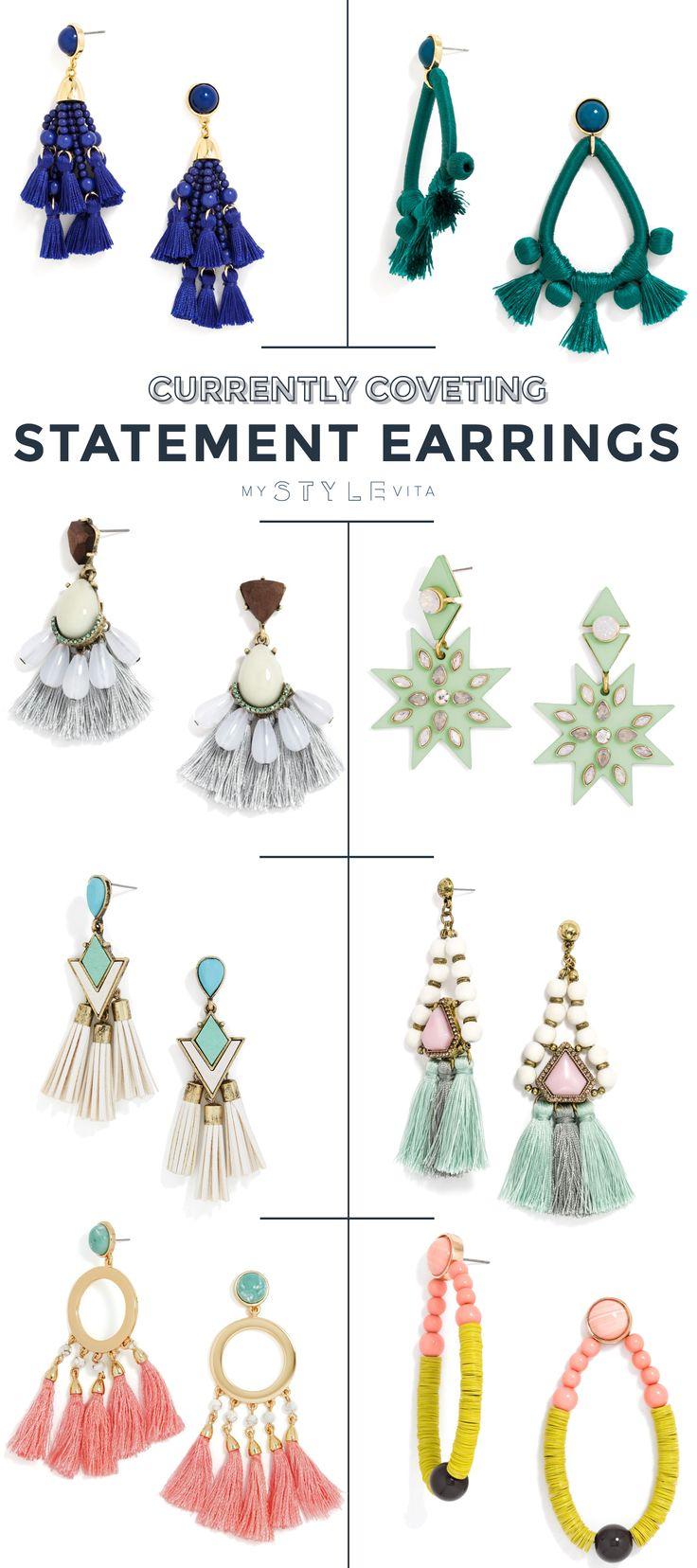 Best Statement Earrings For Summer  @mystylevita