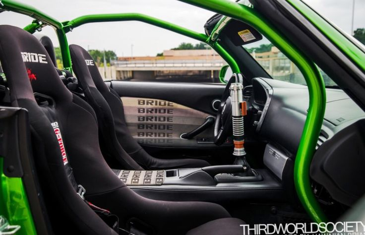 Pretty Dope Interior And Roll Cage Because Racecar