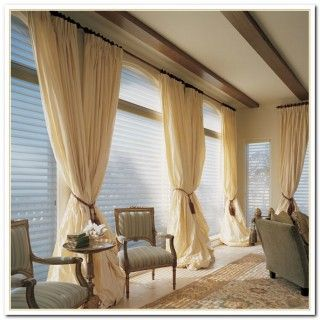 Best Big Window Curtains Ideas Large Treatments Double And