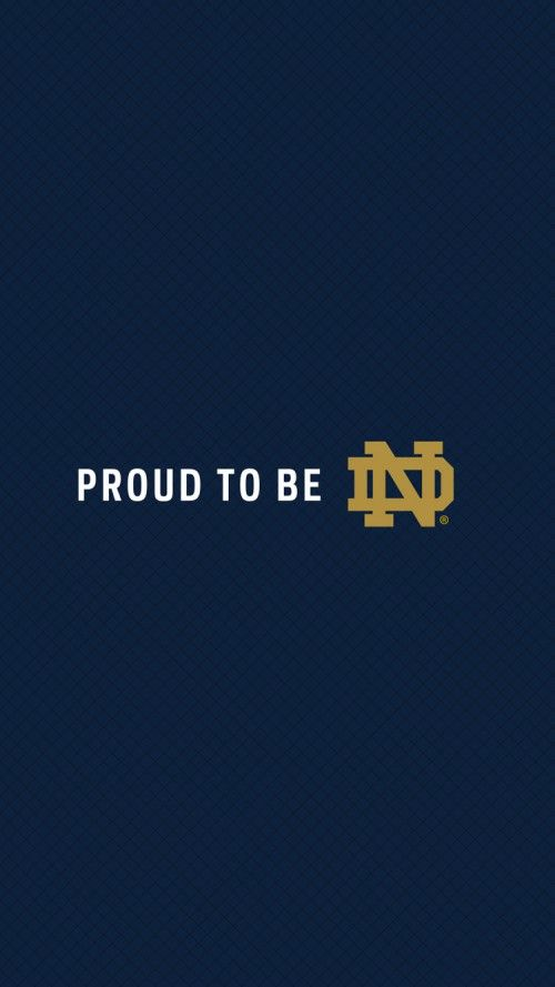 File attachment for Notre Dame football team logo wallpaper for iPhone 6